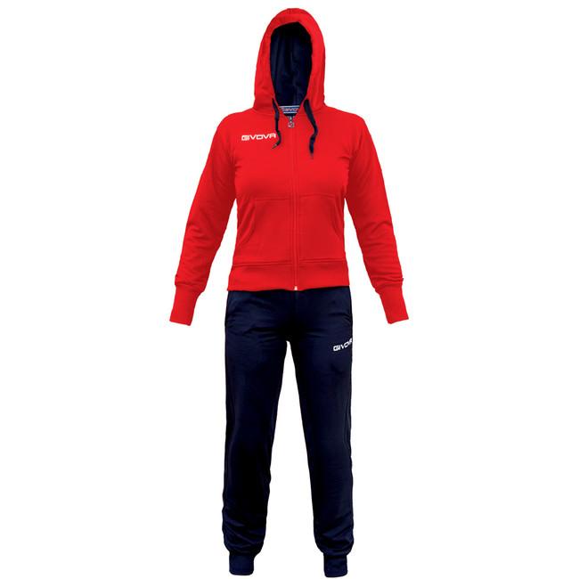TUTA LADY červená-modrá XL