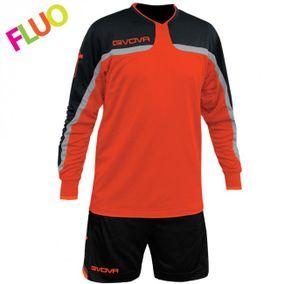KIT TRAFFORD fluo oranžová-čierna