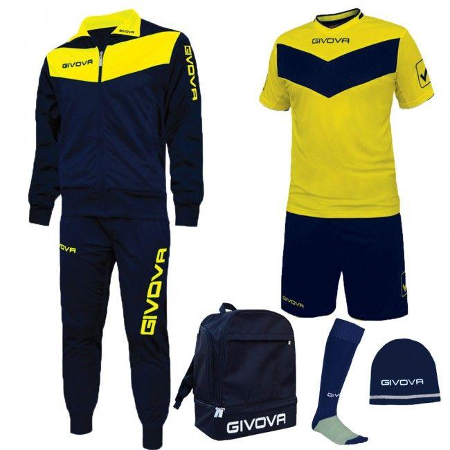 BOX SPORT modrá-žltá