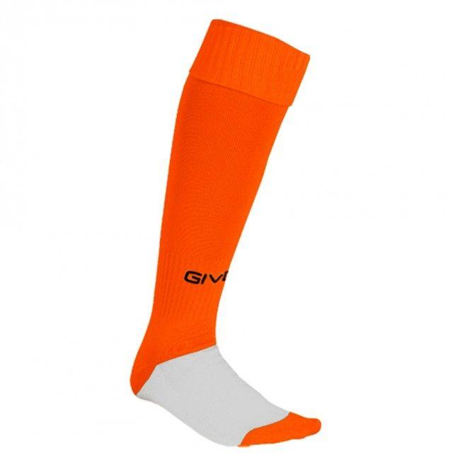 CALZA CALCIO svietivá oranžová