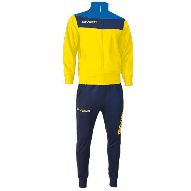 TUTA CAMPO žltá-modrá